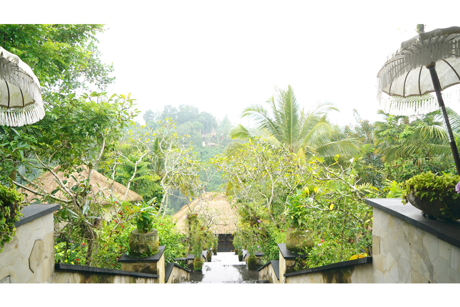 The Hanging Garden - Ubud. What a view.