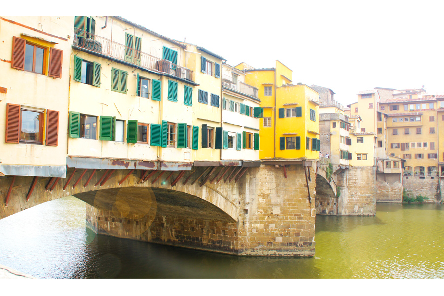 Ponte Vecchio - Florence Italy. Where Jewelry happens.