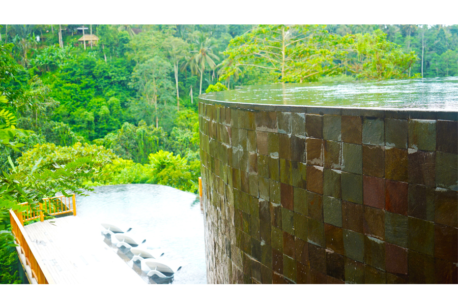 Another View - Main Pool - The Hanging Garden- Ubud