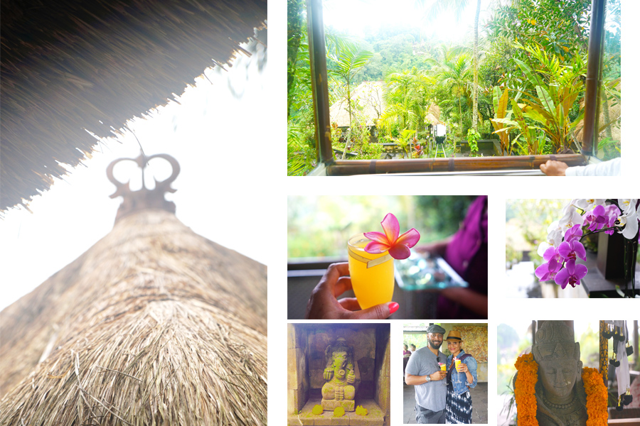 Cable Car and Welcome Drinks - The Hanging Garden- Ubud