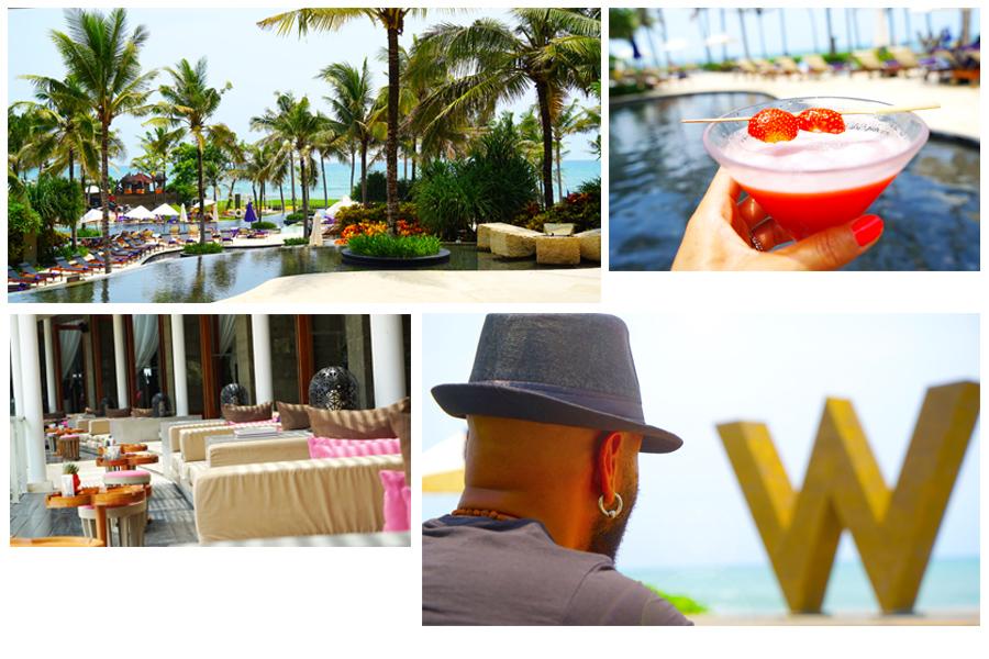 Main Pool & Lounge - W Seminyak - Bali