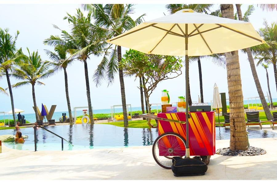 Main Pool - The W Seminyak, Bali